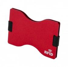 """""""Porlan"""" obal na kreditní karty, červená"""