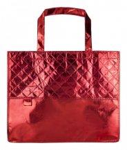 """""""Mison"""" plážová taška, červená"""