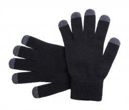 """""""Tellar"""" dotykové rukavice, černá"""