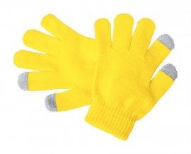 """""""Pigun"""" dotykové rukavice pro děti, žlutá"""