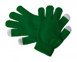 """""""Pigun"""" dotykové rukavice pro děti, tmavě zelená"""