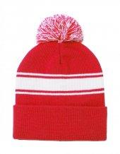 """""""Baikof"""" zimní čepice, červená"""