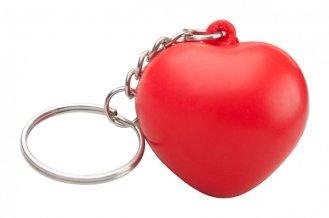 """Silene"" antistres míček klíčenka, červená"