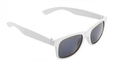 """""""Spike"""" dětské sluneční brýle, bílá"""