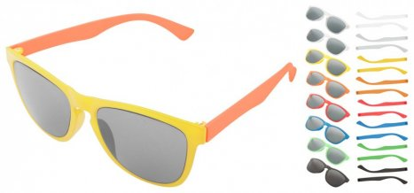 """""""CreaSun"""" sluneční brýle na zakázku, vícebarevná"""