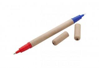 """""""Lippo"""" kuličkové pero z recyklovaného papíru, přírodní"""