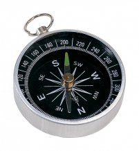 """""""Nansen"""" kompas, stříbrná"""