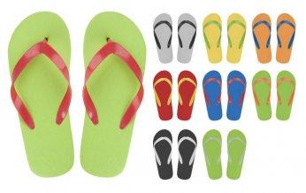 """""""CreaSlip"""" plážové žabky na zakázku, vícebarevná"""