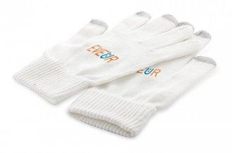 """""""Subtium"""" dotykové rukavice, bílá"""