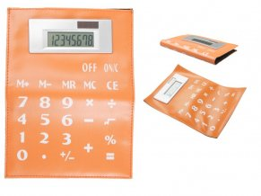 """""""Luppis"""" kalkulačka, oranžová"""