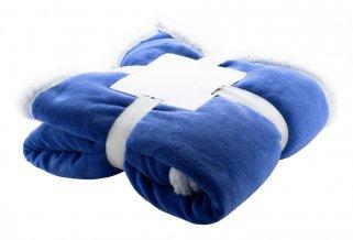 """""""Sammia"""" fleecová deka z korálu, modrá"""
