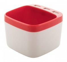 """""""Warger"""" stojánek na pera s USB hubem, červená"""