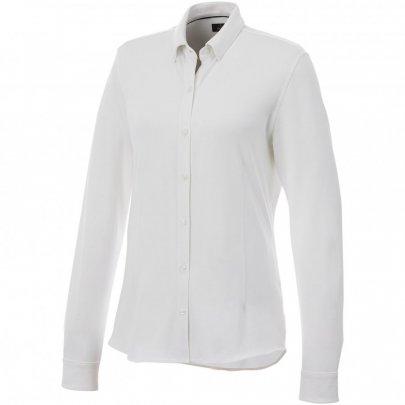 Dámská košile Bigelow s dlouhým rukávem, bílá