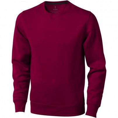 Urrey unisex svetr s kulatým výstřihem, červená