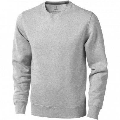 Urrey unisex svetr s kulatým výstřihem, šedá