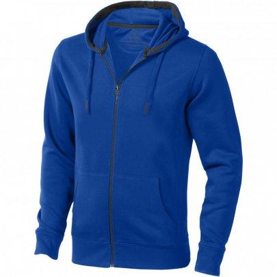 Ikina Arora s kapucí, zip v celé délce, modrá