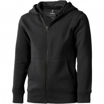 Arora celopropínací svetr na zip s kapucí pro děti, šedá