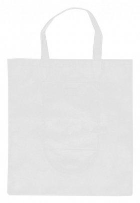 """""""Konsum"""" skládací nákupní taška, bílá"""