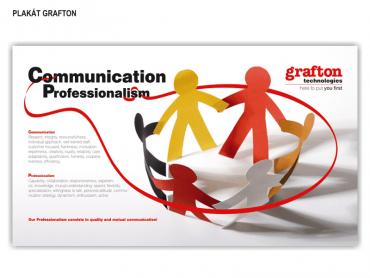 Plakát Grafton