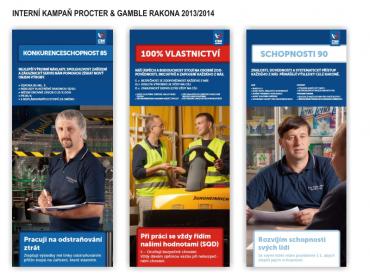 Interní kampaň Procter & Gamble Rakona