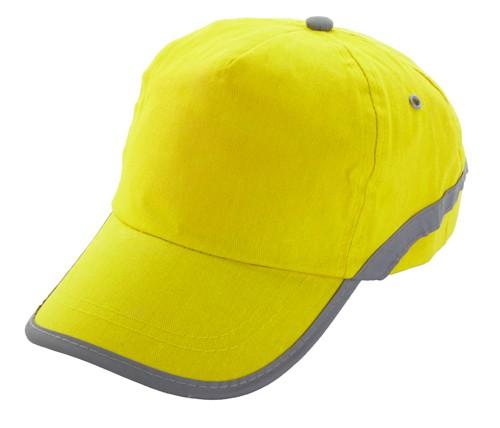 Tarea baseballová čepice Žlutá