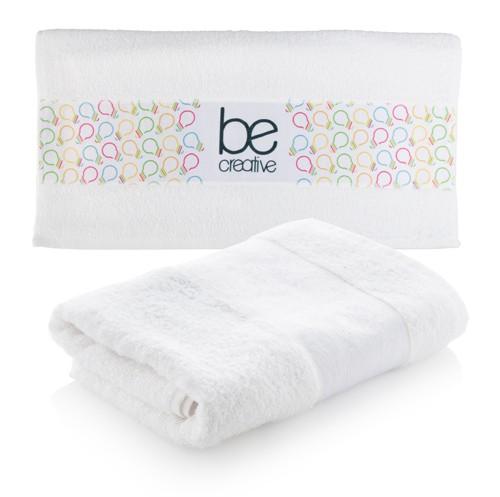 Subowel M ručník se sublimačním potiskem Bílá