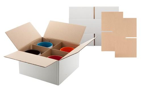 Fourpack krabice na hrnky