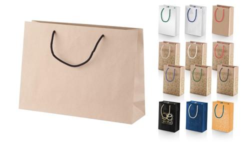 CreaShop H horizontální papírová nákupní taška na zakázku