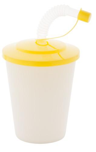 Chico uzavíratelný plastový pohárek Žlutá