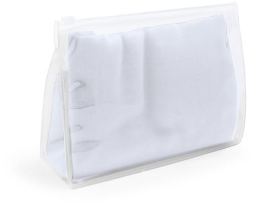 Rosix plážový šátek Bílá