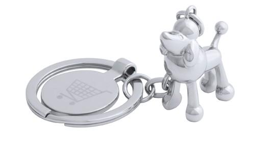 Hoinzo přívěšek na klíče se žetonem, pes