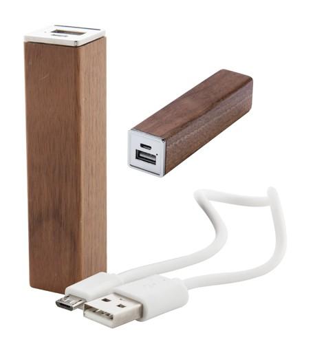 Roblex USB power banka Hnědá