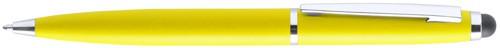 Walik dotykové kuličkové pero Žlutá