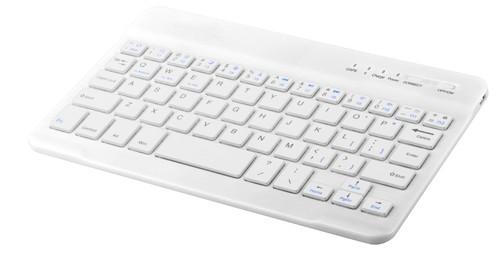 Volks bluetooth klávesnice Bílá