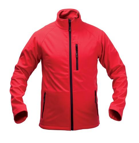 Molter softshellová bunda Červená