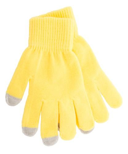 Actium dotyková rukavice na obrazovku Žlutá