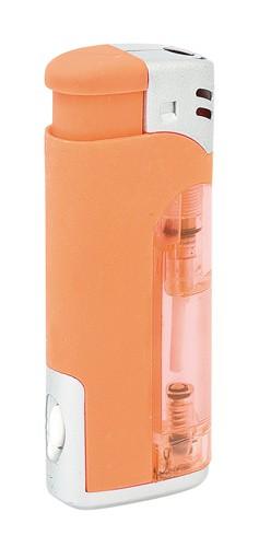 Resisto zapalovač s led světlem Oranžová