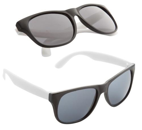 Glaze sluneční brýle Bílá