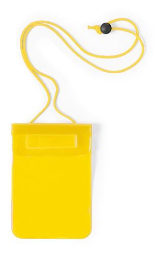 Arsax voděodolný obal na mobil Žlutá