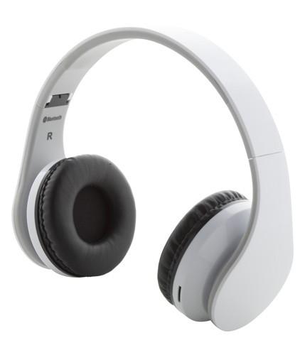Darsy bluetooth sluchátka Bílá