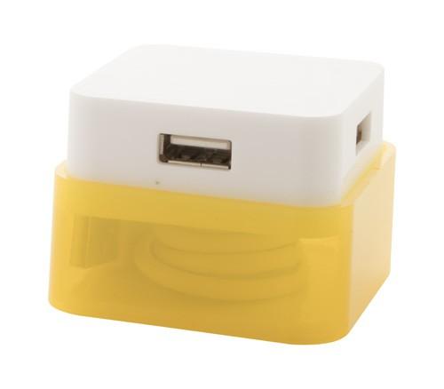 Dix USB rozbočovač Žlutá