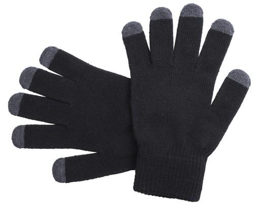 Tellar dotykové rukavice Černá