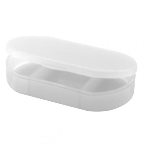 Trizone box na pilulky Bílá