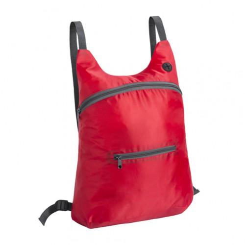Mathis skládací batoh Červená