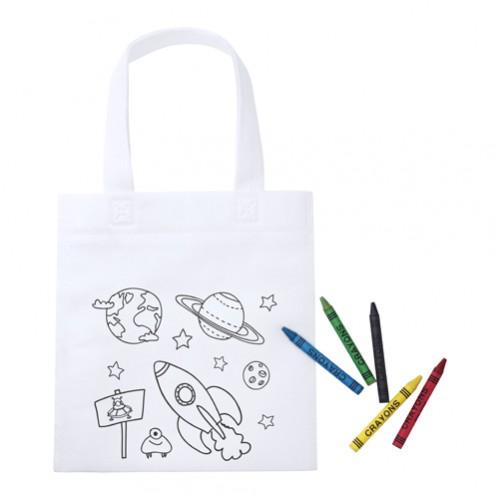 Mosby nákupní taška na vybarvení