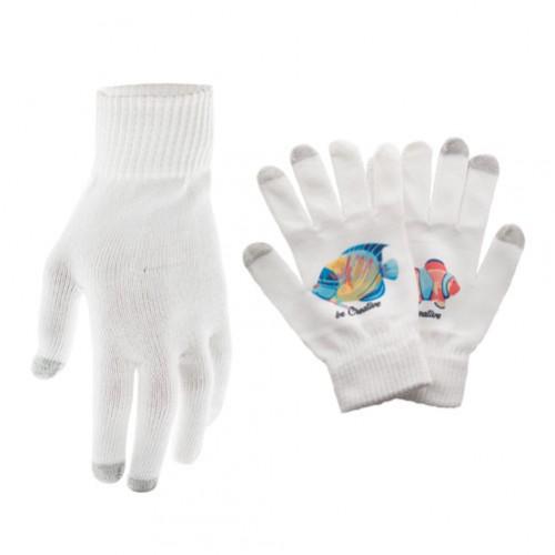Subtium dotykové rukavice Bílá