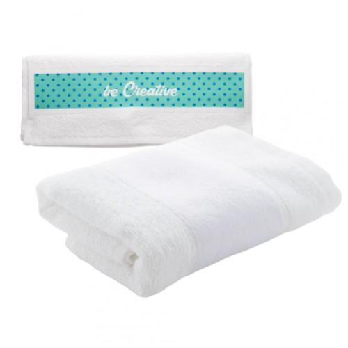 Subowel S ručník se sublimačním potiskem Bílá