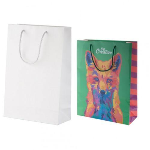 CreaShop L velká papírová nákupní taška na zakázku
