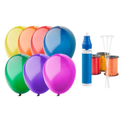CreaBalloon balonky v lesklých barvách