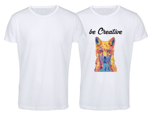Krusly tričko pro dospělé Bílá